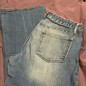 GAP 1969 Perfect Boot Jeans, size 28